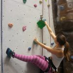 Climbing is my work out